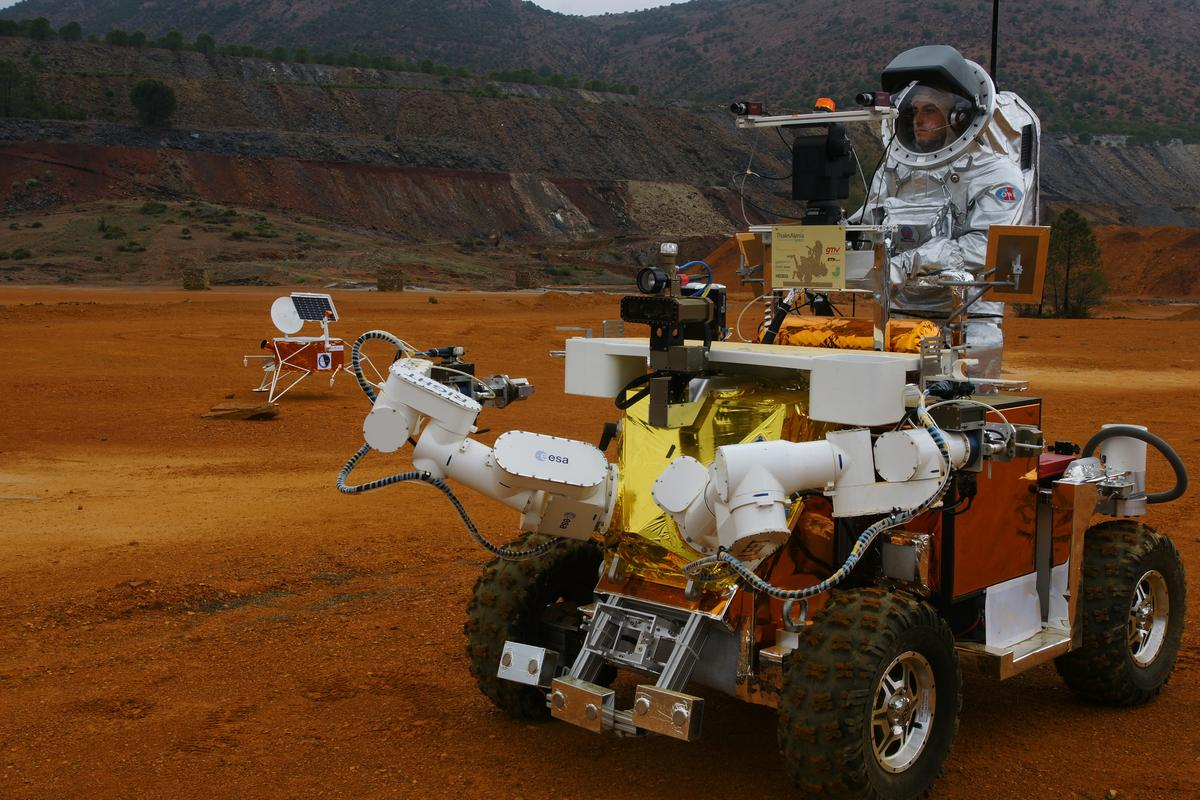 The ESA Eurobot (Image: ESA)
