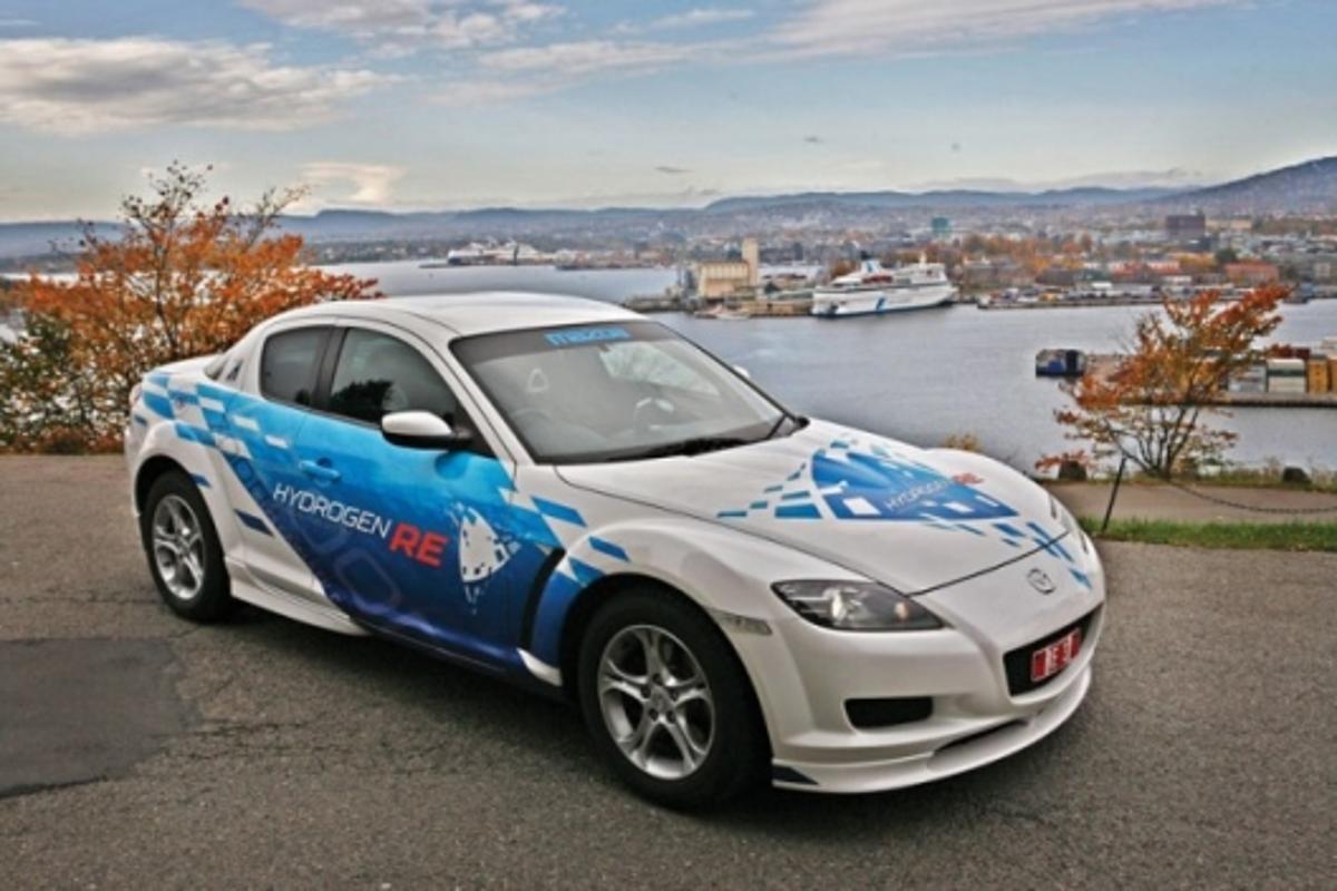 Mazda RX-8 Hydrogen RE, 2008