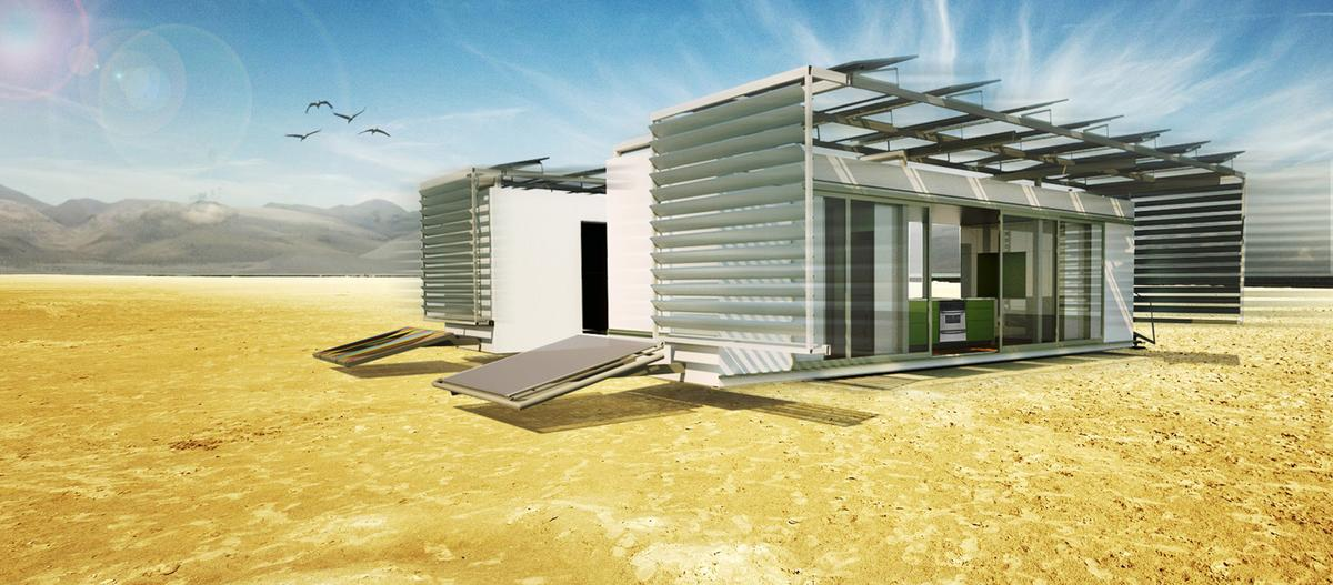 The DALE micro-home is the work of a collaboration between SCI-Arc and Caltech students