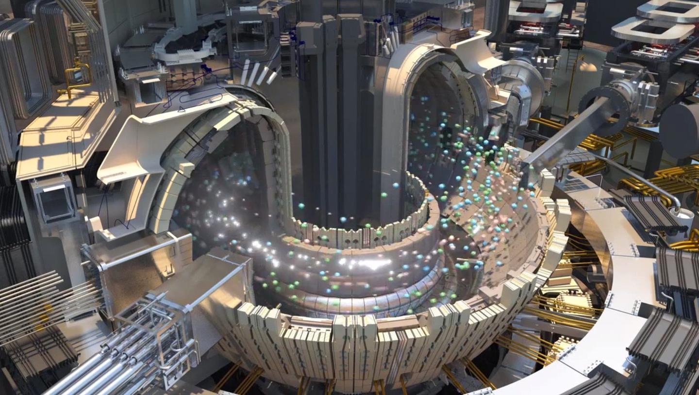یک راکتور فیوژن گداخت هسته ای در قالب پلاسما در توکاماک