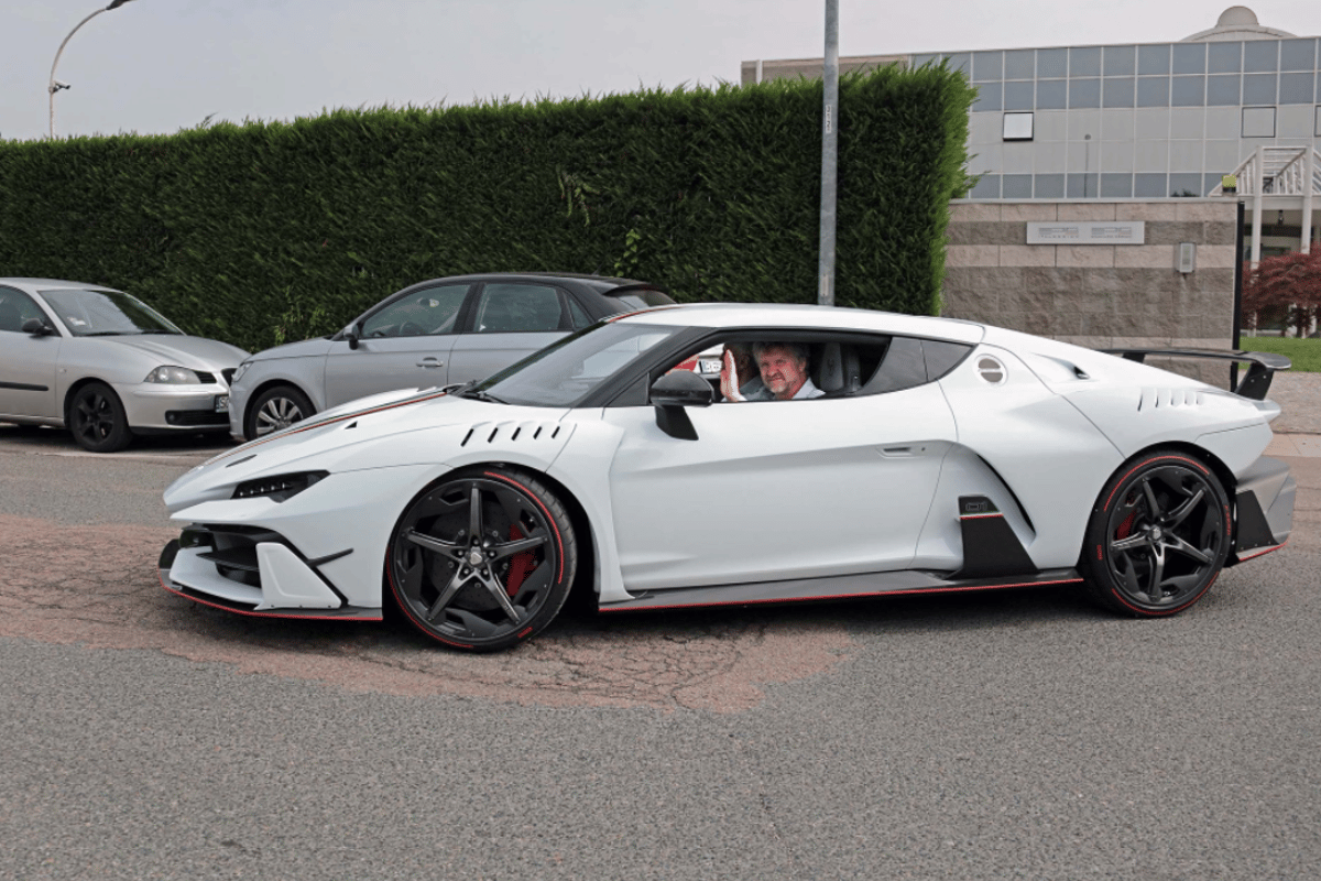 The Italdesign Zerouno with its happy first owner