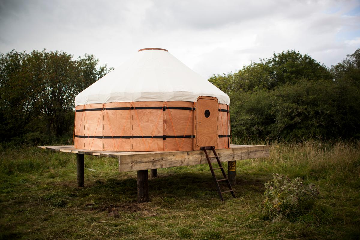The Jero yurt, by Scottish company Trakke
