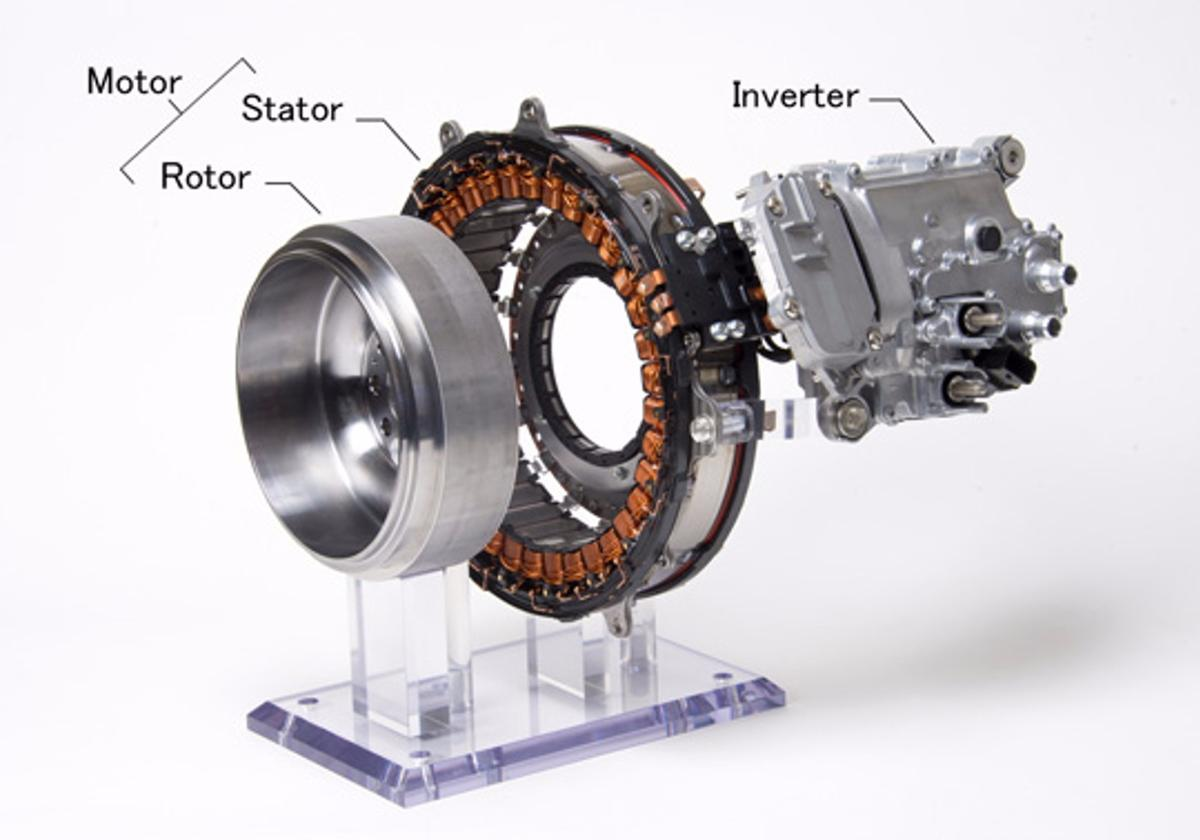 Most commonly, 48V hybrid systems are used in engine stop-start designs with the motor acting as both the starter and brake regeneration system