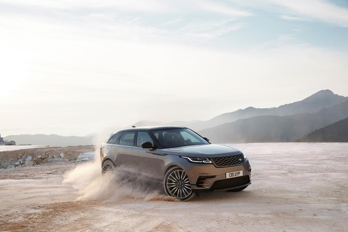 The new Range Rover Velar is set to debut at the Geneva Motor Show