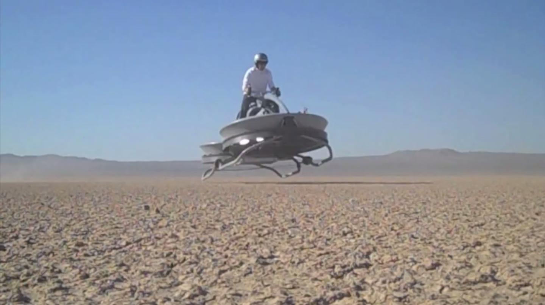Still from an Aerofex test flight video