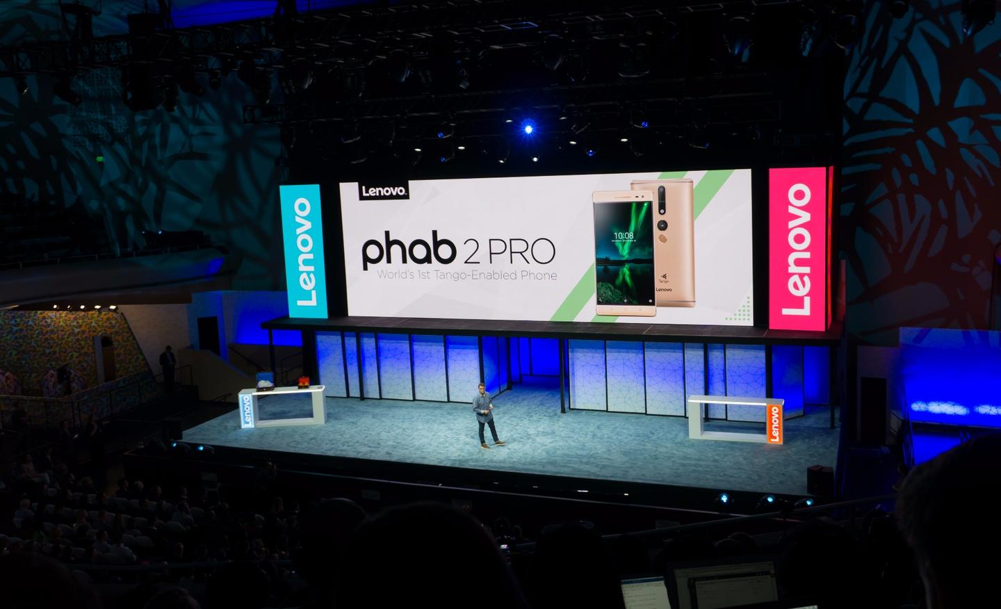 Lenovo announcing the Phab2 Pro
