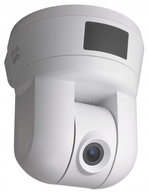 Cisco's PVC300 Pan Tilt Optical Zoom Internet Camera provides real-time video monitoring from any Internet-enabled PC or mobile phone