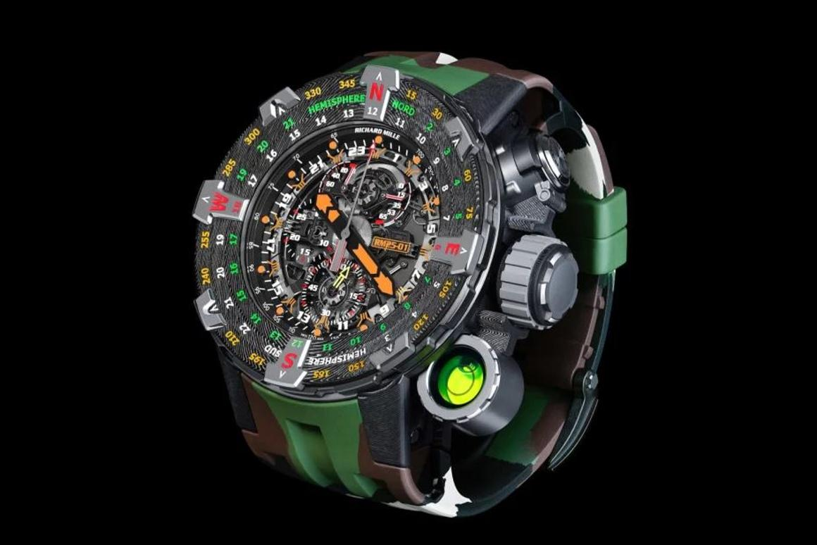 The RM 25-01was designed in collaboration with the actor/director Sylvester Stallone