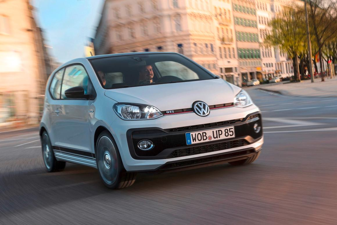 The VW up! GTI will be shown off in Worthersee