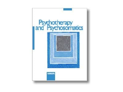 The front cover of the journal Psychotherapy and Psychosomatics, by its editor Giovanni A. Fava