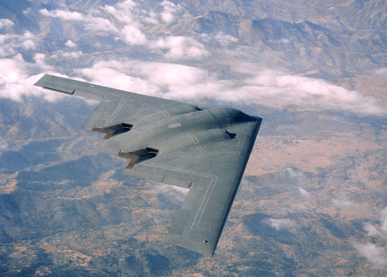The next generation bomber may be based in part on the B-2 Spirit bomber