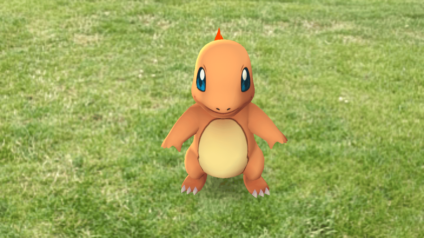 """Like other Pokemon games, Gotasks the playerwith picking a""""starter"""" pokemon early on"""