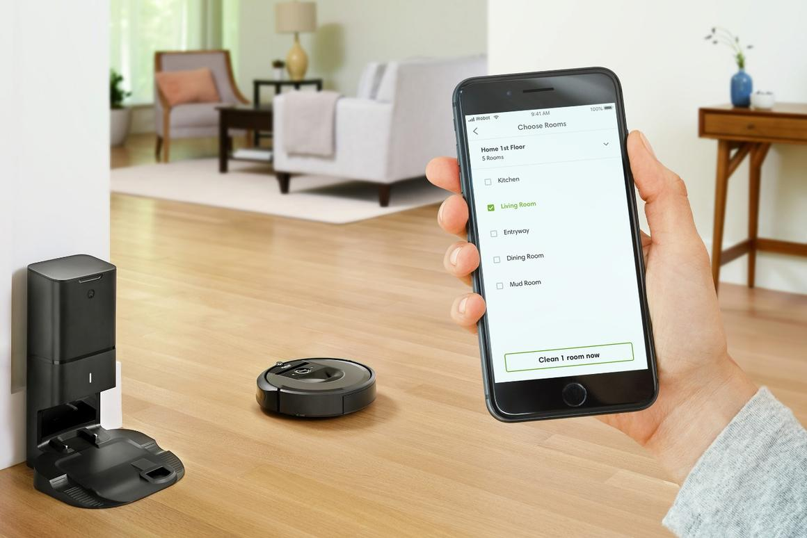 New Roomba i7+ takes a load off owners by emptying itself