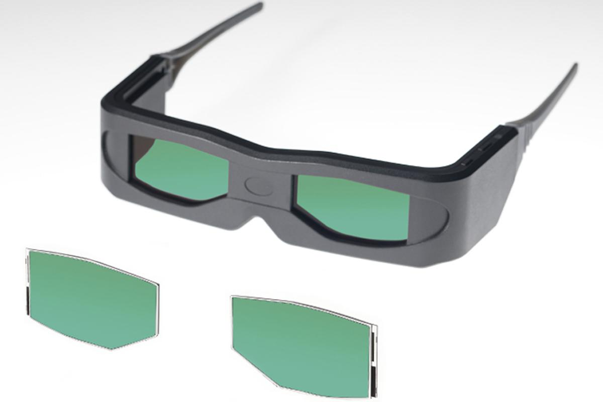 3D Glasses using Toshiba's new high speed response LCD panels
