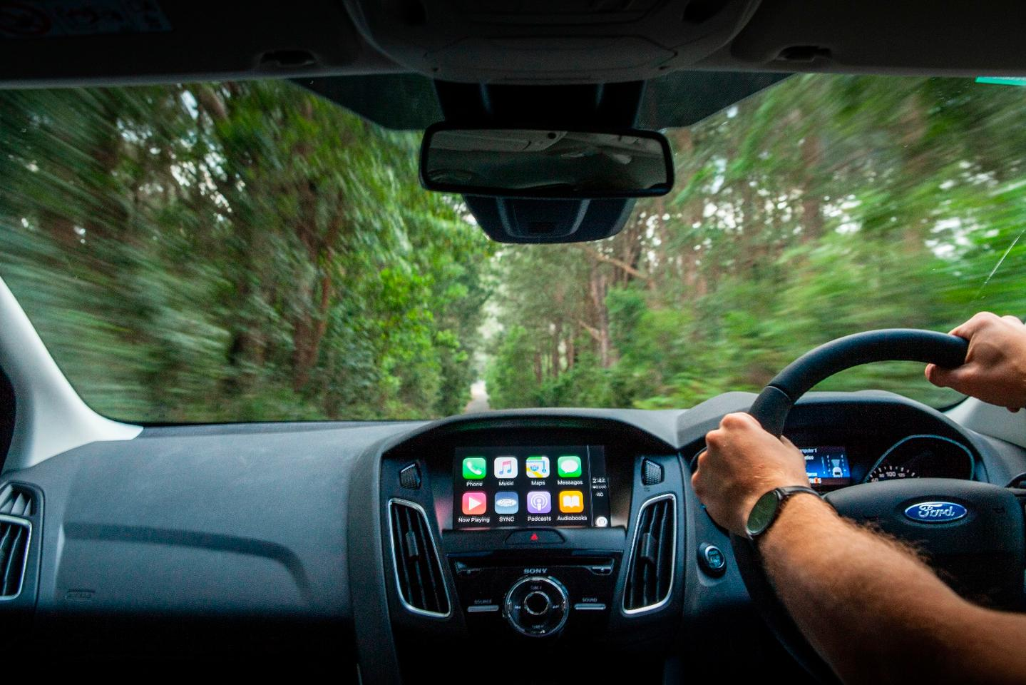 The 2016 FocusfeaturesApple CarPlay and Android Auto