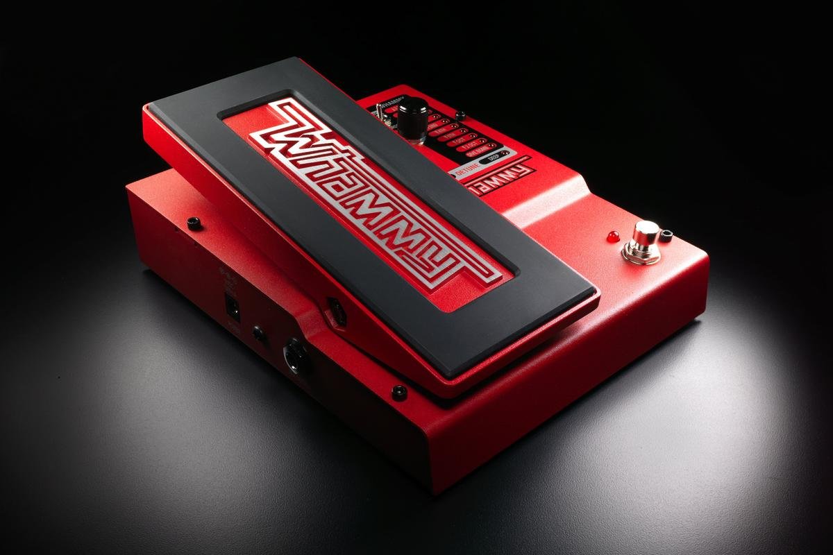 DigiTech has announced its fifth generation Whammy pitch shifting pedal, which introduces chordal pitch shifting, additional Whammy intervals, MIDI input and true bypass
