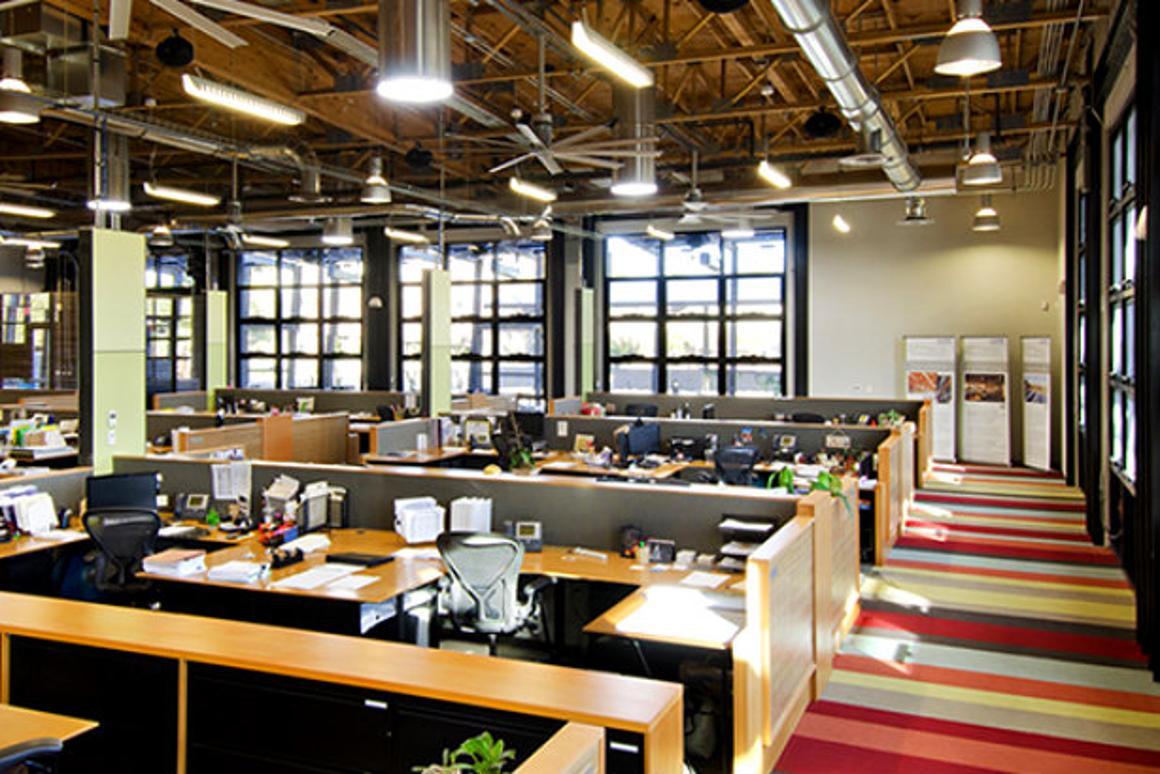 The building has received LEED-NC Platinum and Net-Zero Energy certification (Photo: Gregg Mastorakos)