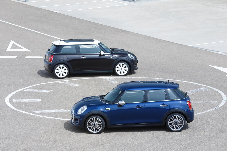 The 5-door Mini compared to the 3-door