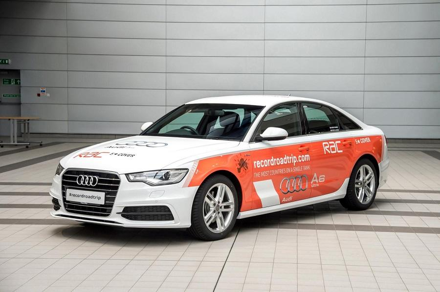 It is thought that driving team Andrew Frankel and Rebecca Jackson will be able to travel for over 1,000 mi (1,609 km) using just one tank of diesel