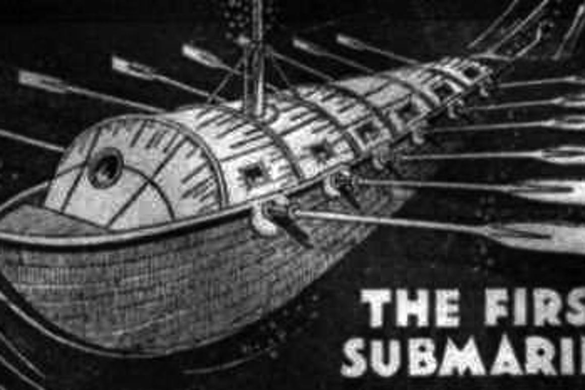 Cornelis Drebbel built three submarine in the 1620s - they