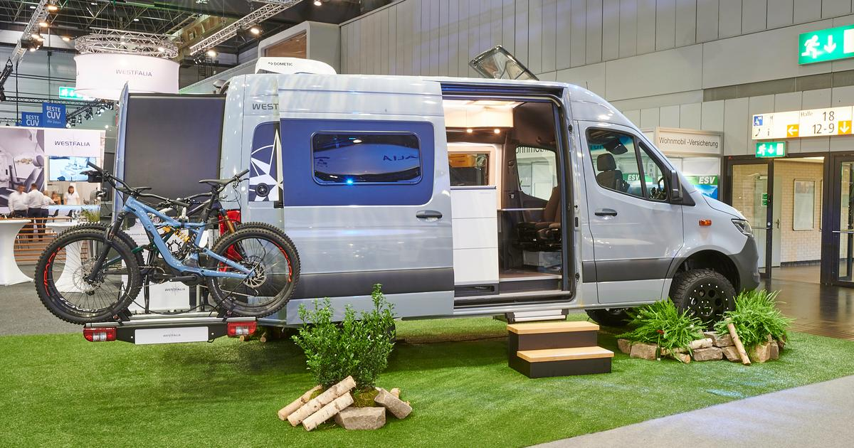 Westfalia goes high-rise and off-road with expanding Mercedes camper van