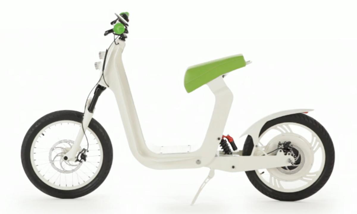Currently in development in Spain, the Xkuty is a remarkably lightweight electric scooter weighing in at a mere 45 kg (99 lb)