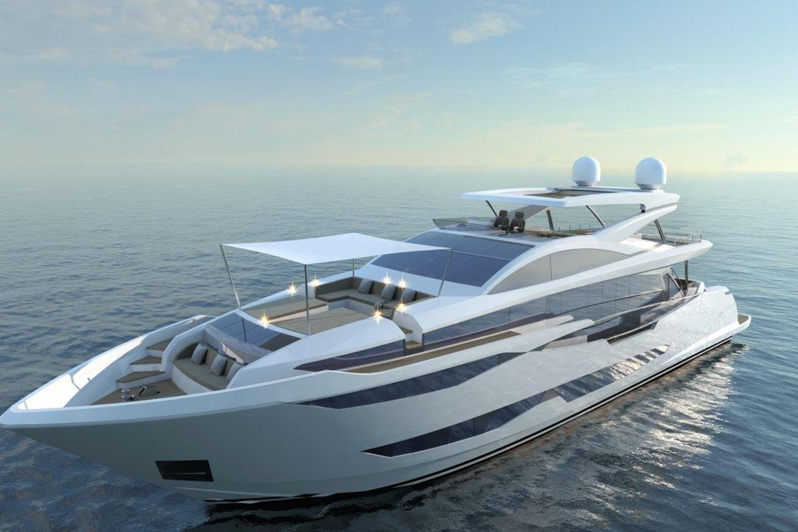 The Pearl 95 is Pearl Yachts' first venture into the superyacht market