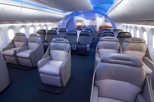 787 Dreamliner interiorPhoto Credit: Boeing Photo