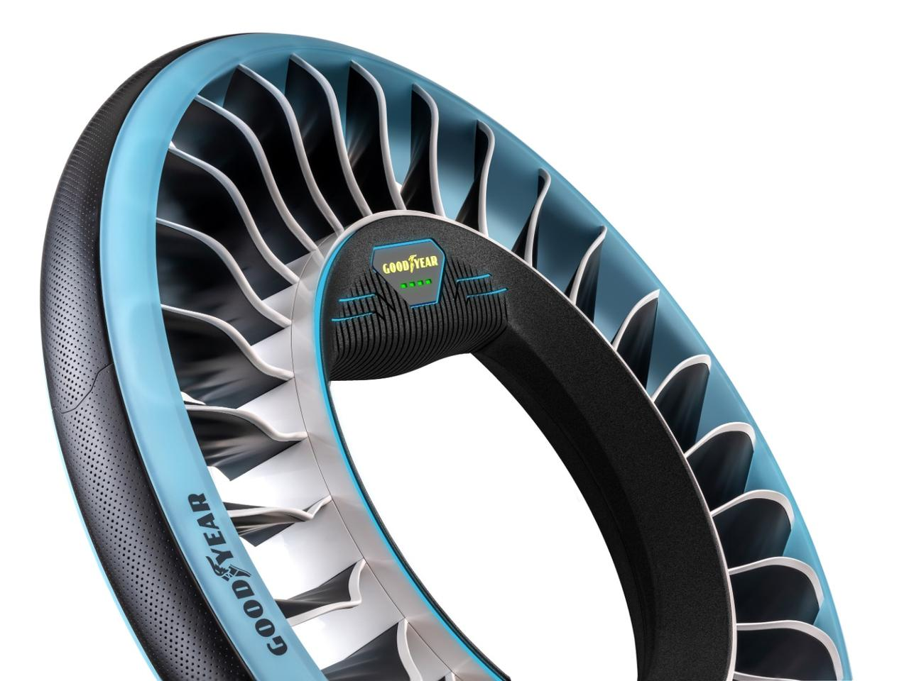 The Aero tire would utilize a zero-friction magnetic propulsion system