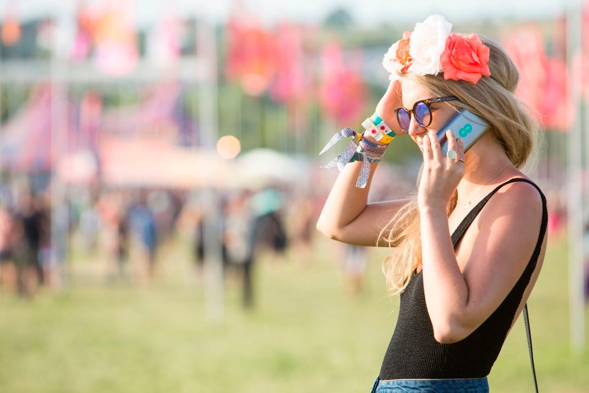 Attendees of this year's Glastonbury Festival consumed a total of 25 TB of data