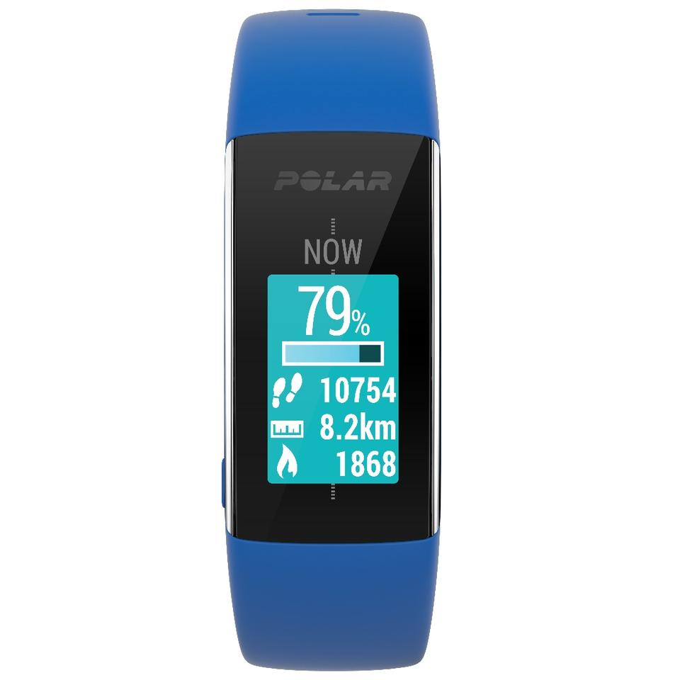 The Polar A360 fitness tracker features a full color TFT touchscreen display