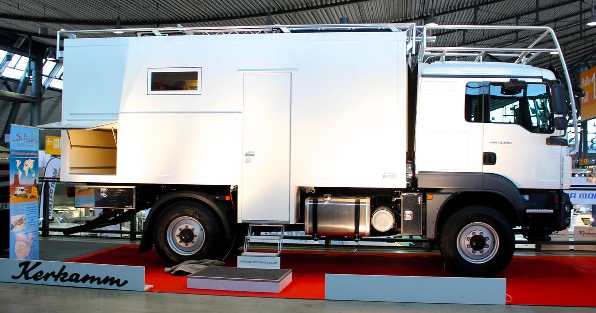 Wild horses: Off-grid adventure vehicles and 4x4 camper vans