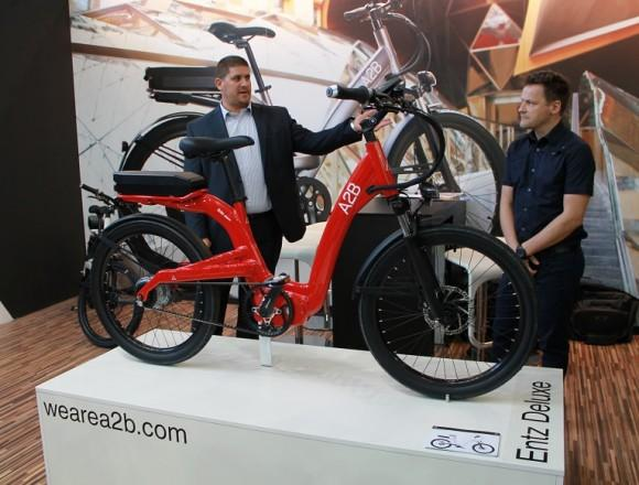 The A2B Entz debuts at Eurobike 2014
