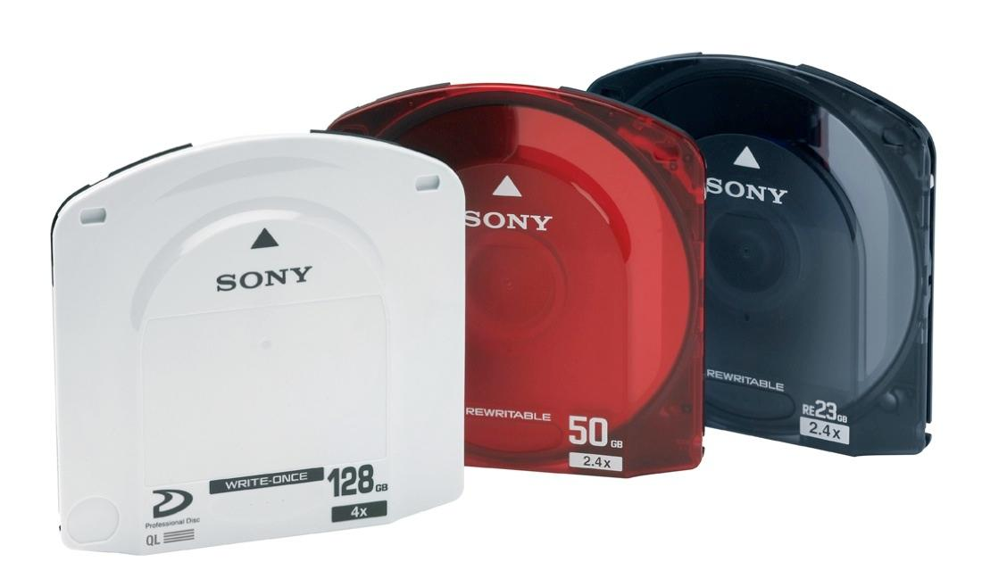 A recent optical disc archive system from Sony