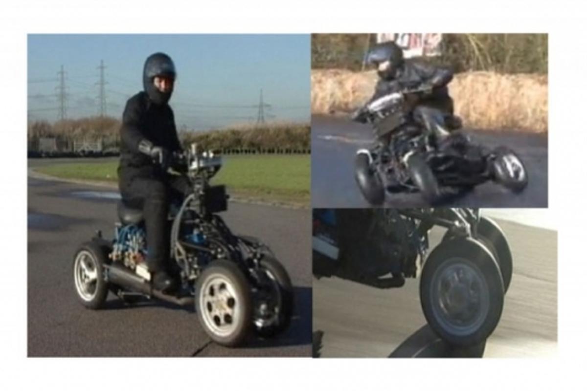 Nick Shotter's tilting 4-wheeler 4MC prototype