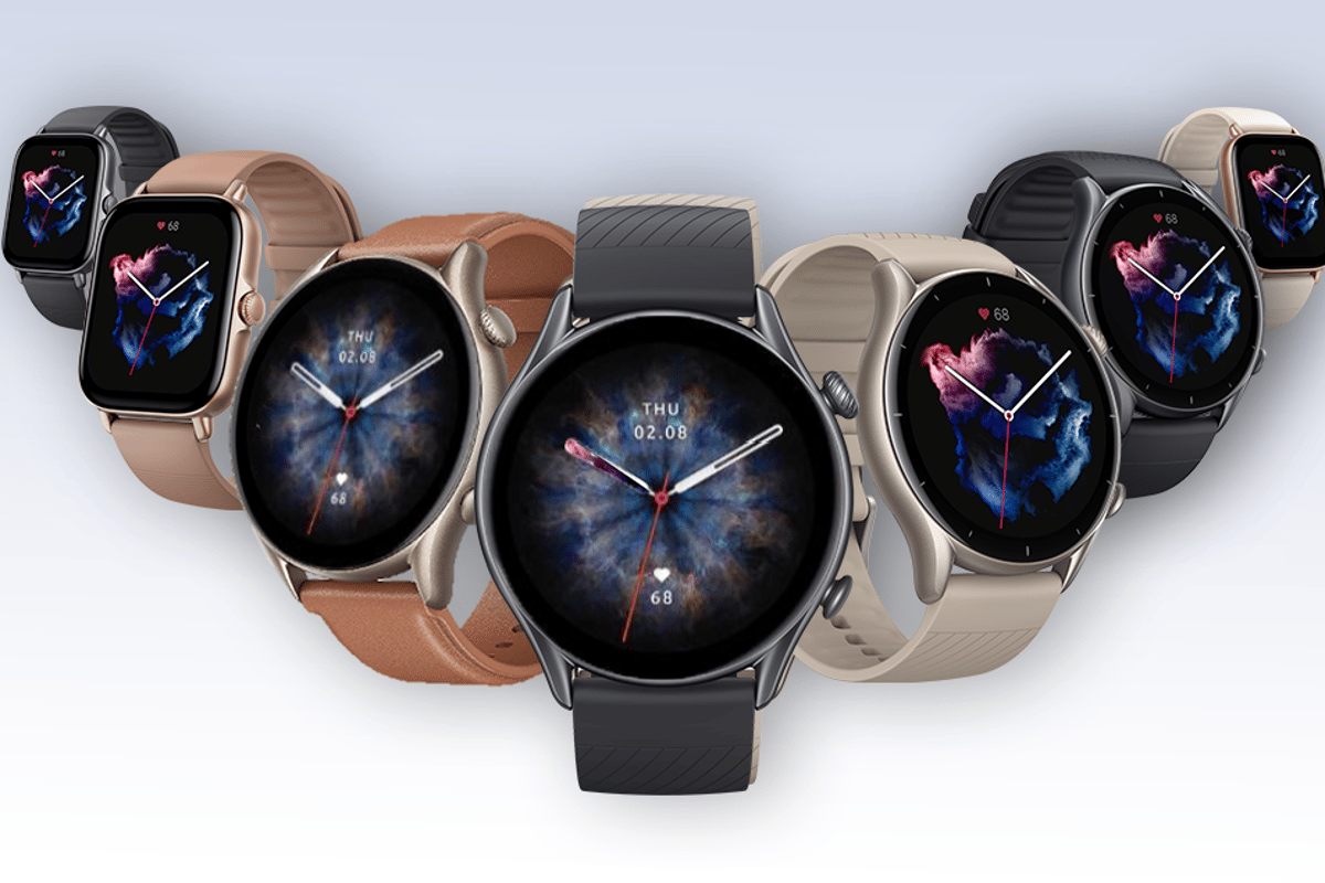 Amazfit's GTR3 Pro, GTR 3 and GTS 3 smartwatches promise long battery life and comprehensive health tracking