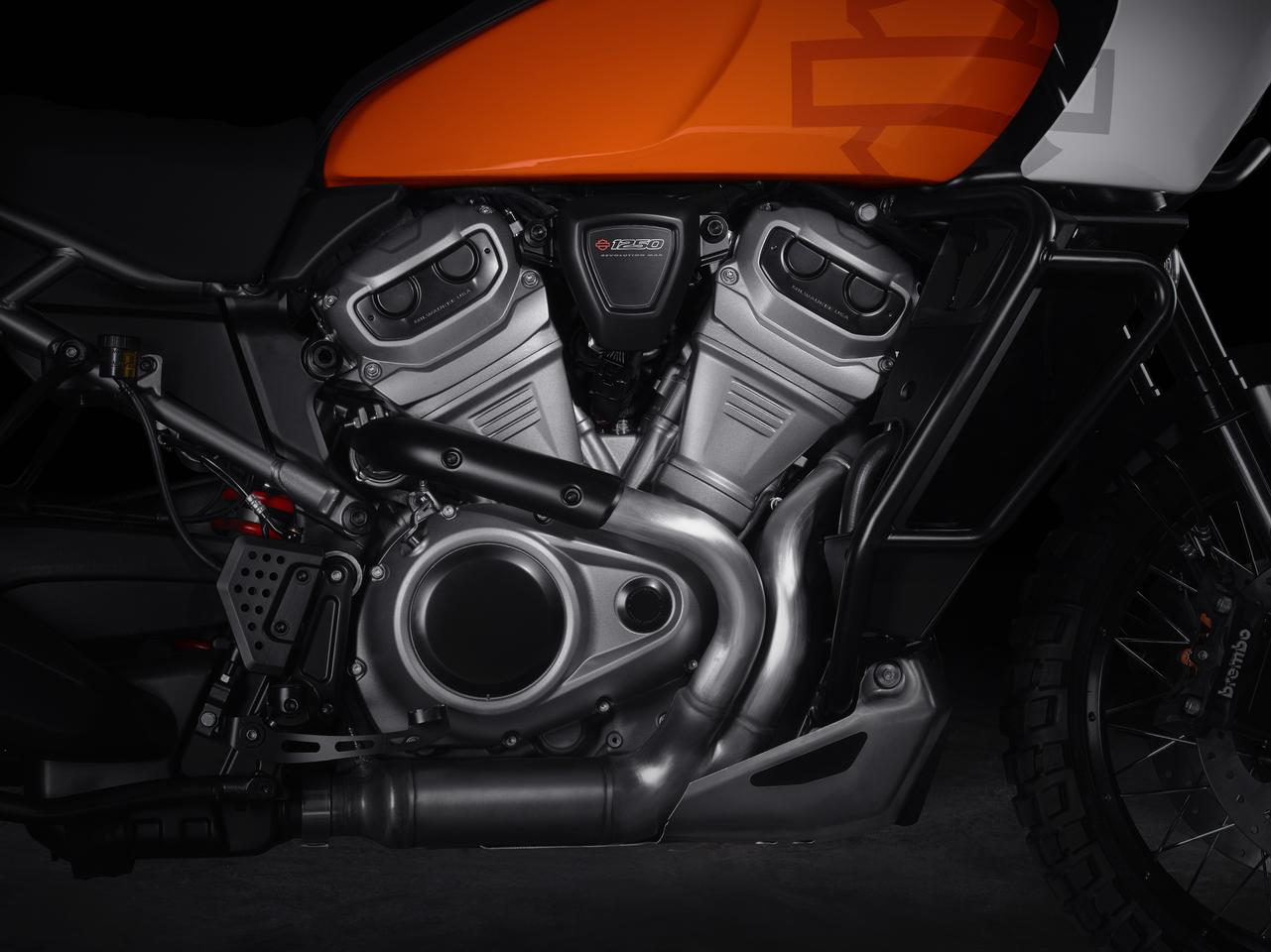The 1250cc Revolution Max engine