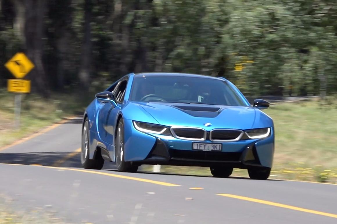 BMW i8: superb handling and roadholding in a package designed for real-world sports driving