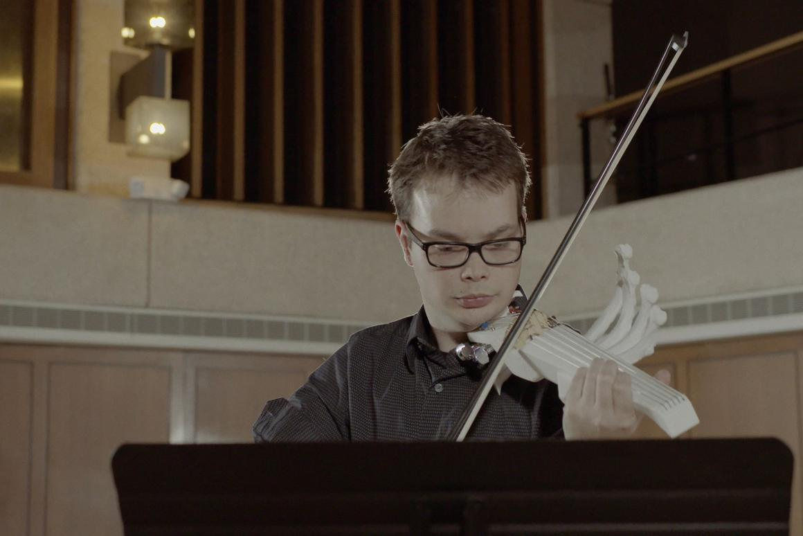 Sean Riley and his 3D-printed, 6-string violin are due to make theirfirst performance in Austin on February 22