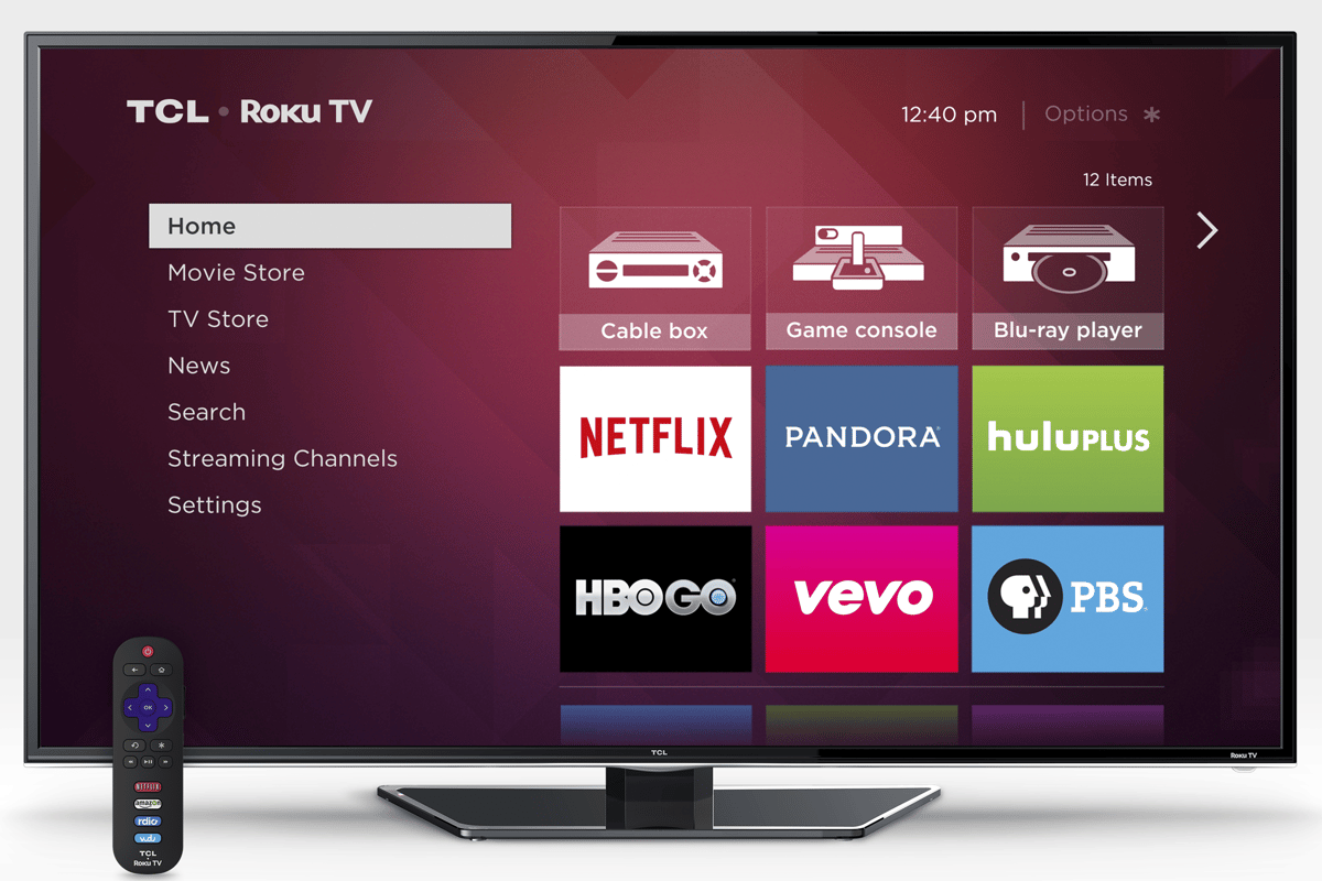 Roku TVs will be available in a range of sizes from 32 to 55 inches