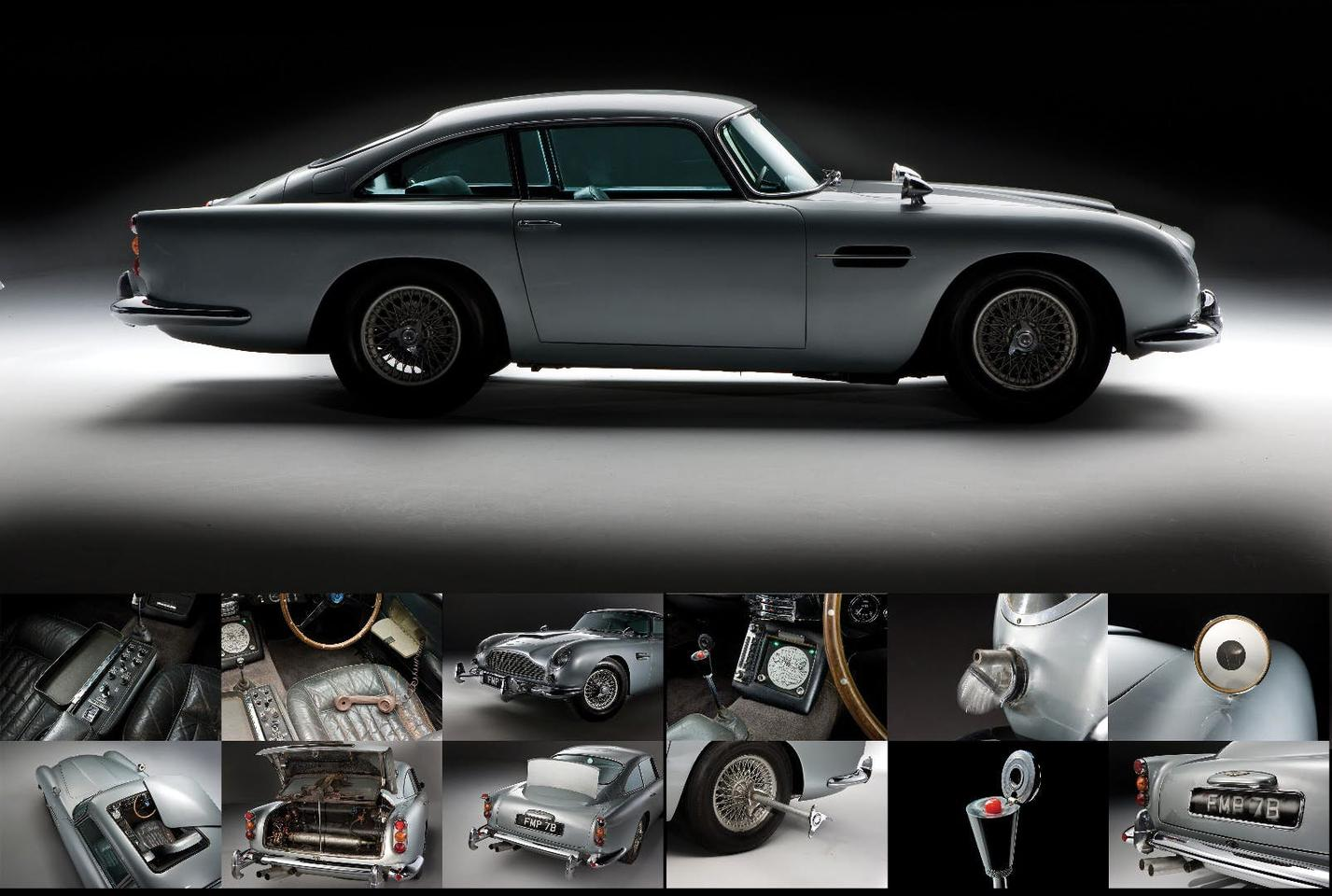 An Original James Bond Goldfinger Aston Martin Db5 Heads For Auction