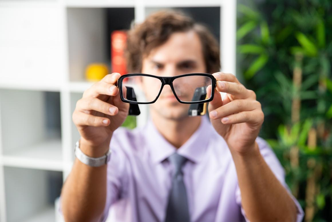 HiiDii Glasses are presently on Kickstarter