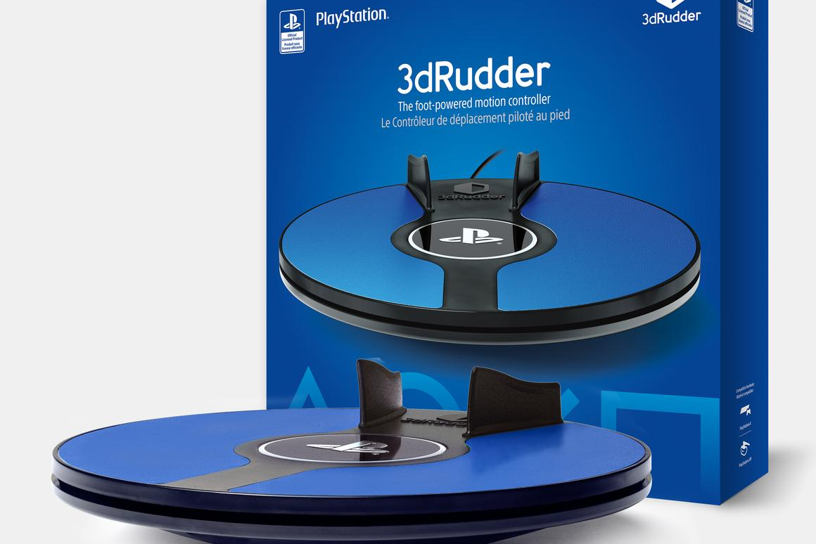 3dRudder controller puts players feet-first in PS VR