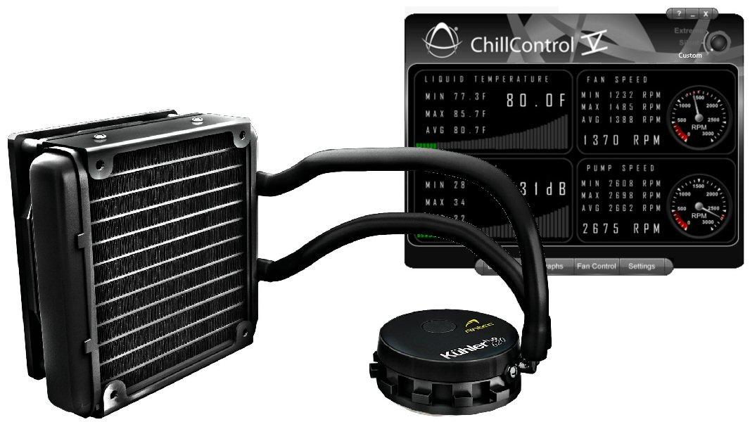 Asetek has announced the development of a new fan control technology that's said to deliver both quieter computing and optimum cooling performance, and an update to its ChillControl app