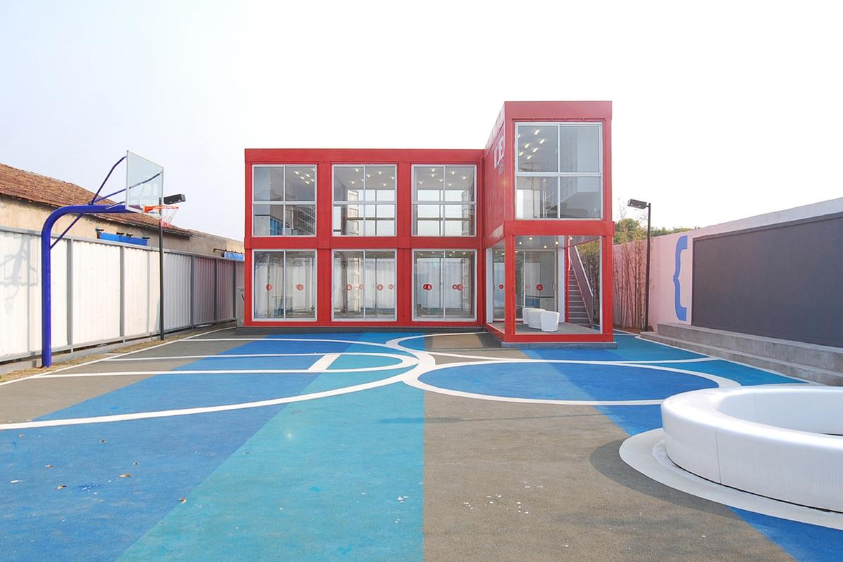 The Community Cube center was built to service Shanghai's migrant workers (Photo: Jennifer Ha)