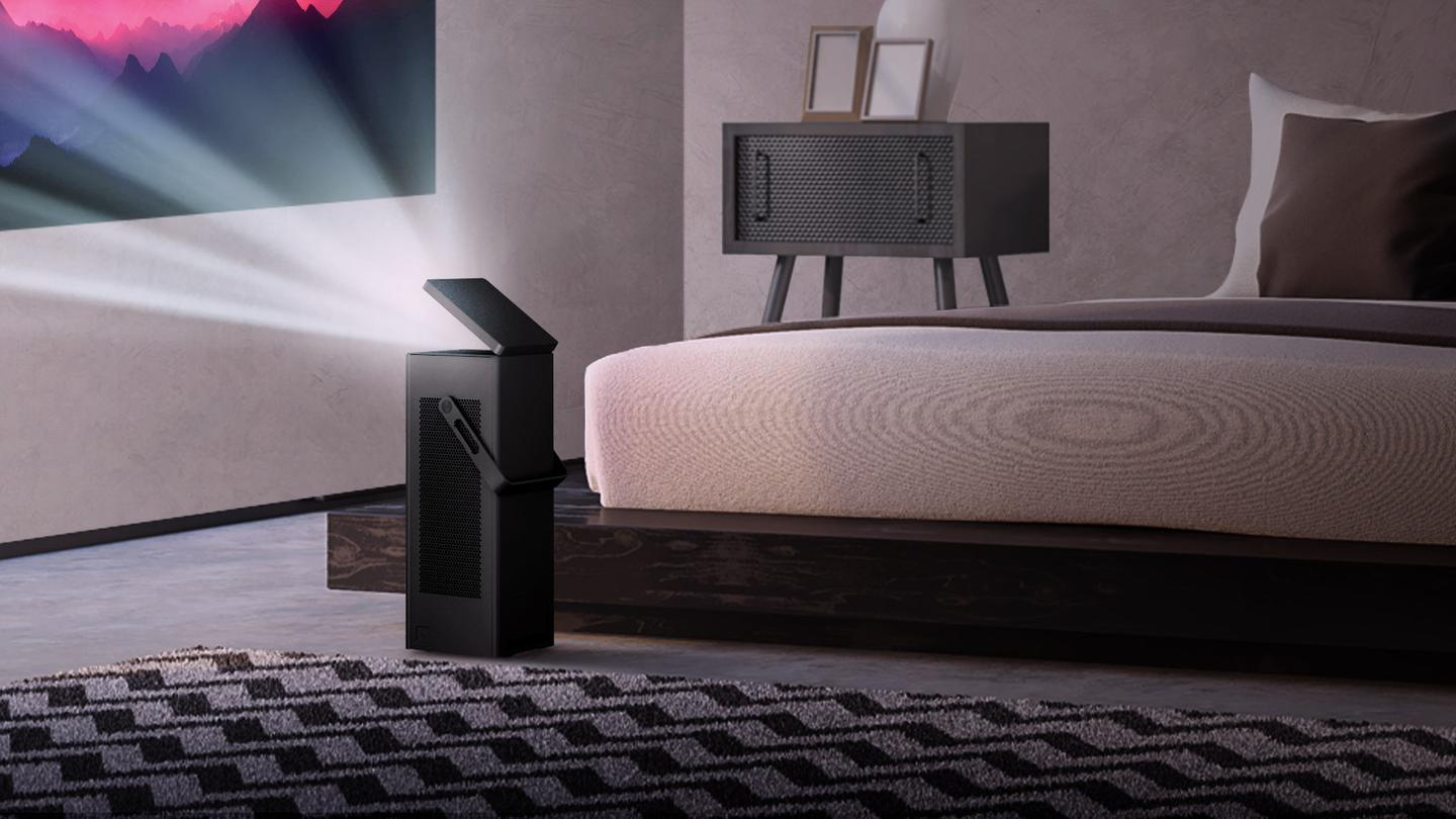 With regard to your living room, LG is turning up to CES all guns blazing this year
