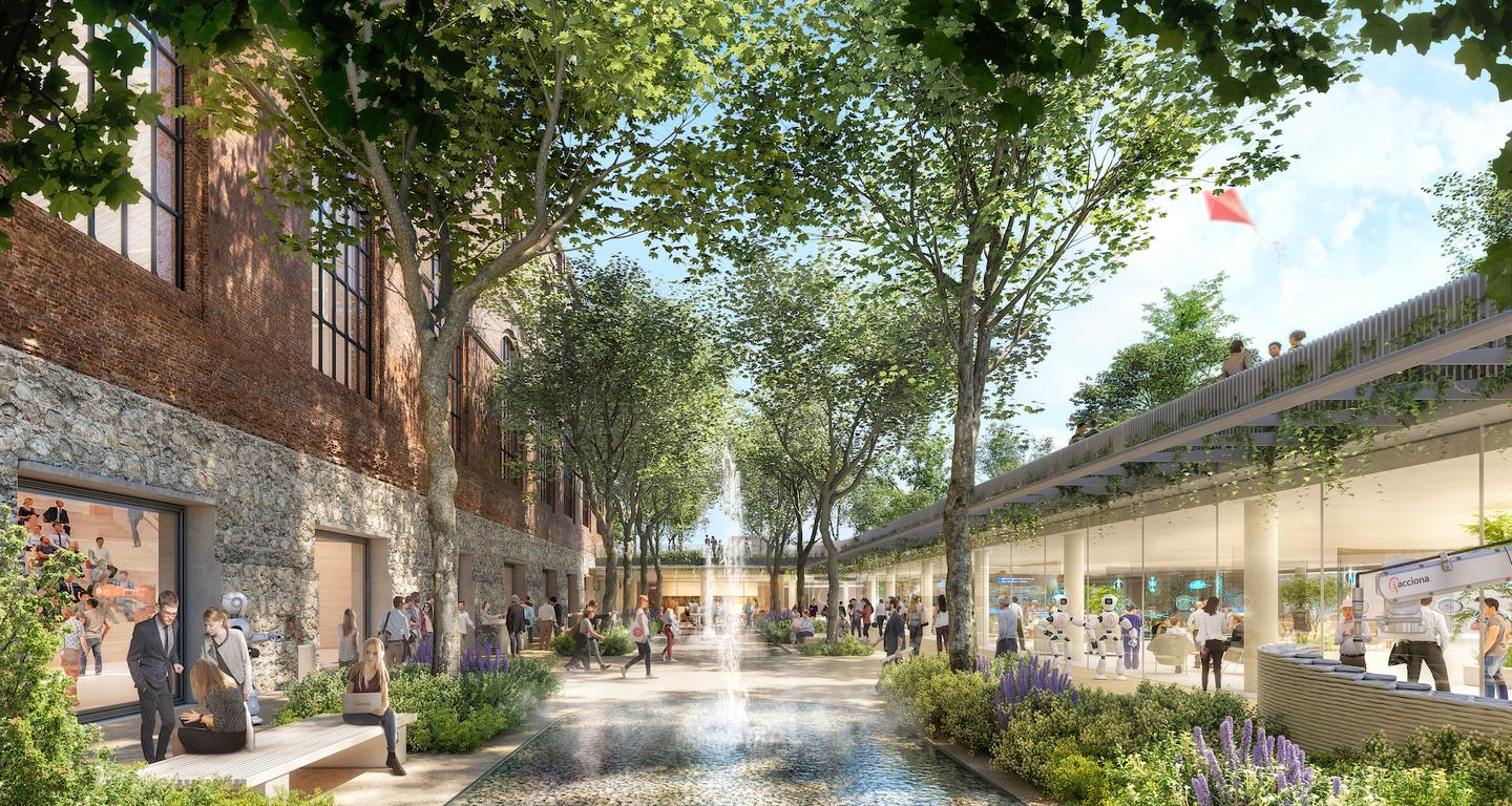 Acciona Ombú will include over 300 local trees and other greenery, as well as some water features to offer staff a pleasant place to work outside