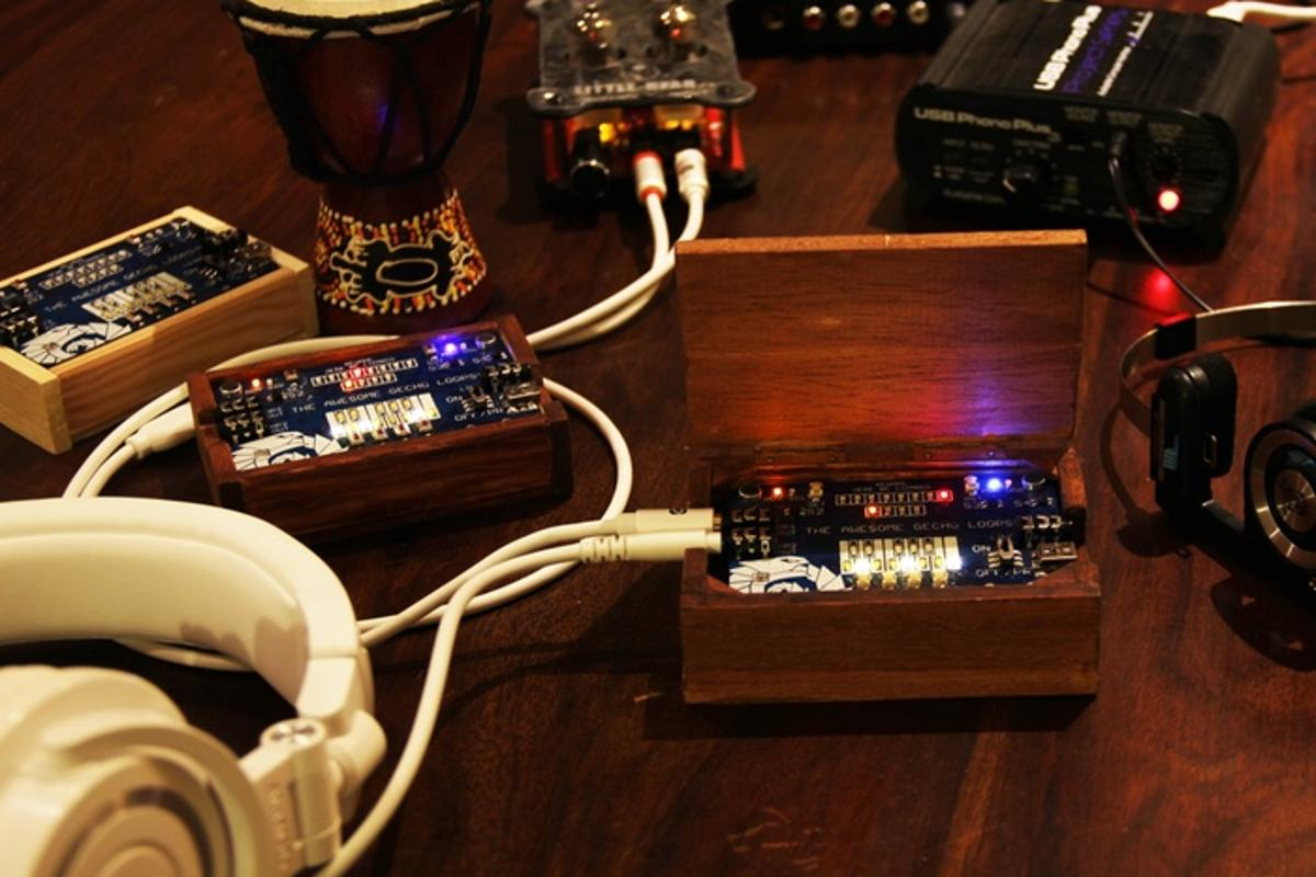 The Gechopolyphonic synthesizer/looper project is currently running on Kickstarter