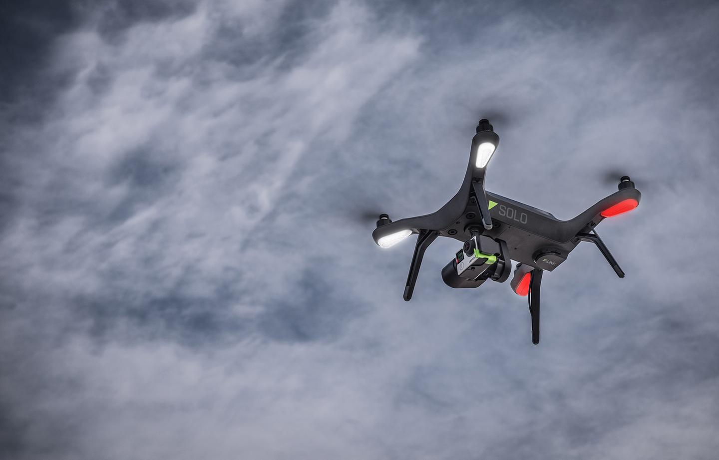 The 3D Robotics Solo quadcopter is designed to give results right out of the box