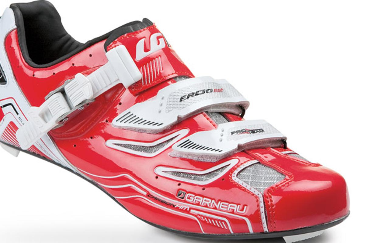 Louis Garneau Carbon Pro Team shoe in red